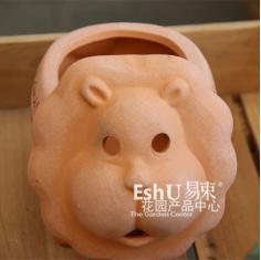 动物花盆/小兔花盆/小猪花盆/花园陶罐/阳台多肉花盆/易束花园