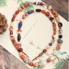 【私奔巴厘】万古珠辉■世界保真古珠系列 古董多宝项链 3