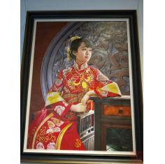中国新娘,3幅,大6尺